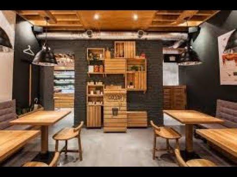 Desain Cafe ruko Cantik  YouTube