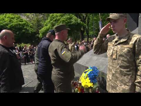 lvivadm: У Львові вшановують пам'ять жертв політичних репресій.
