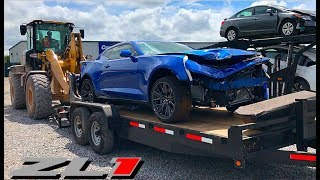 Download Rebuilding A Wrecked 2018 Camaro ZL1 Mp3 and Videos