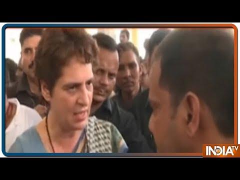 'Wont Return Without Meeting The Kins of Sonbhadra Victims', says Priyanka Gandhi