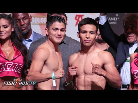 FULL AND UNCUT - CANELO VS GOLOVKIN FULL UNDERCARD WEIGH INS AND FACE OFFS