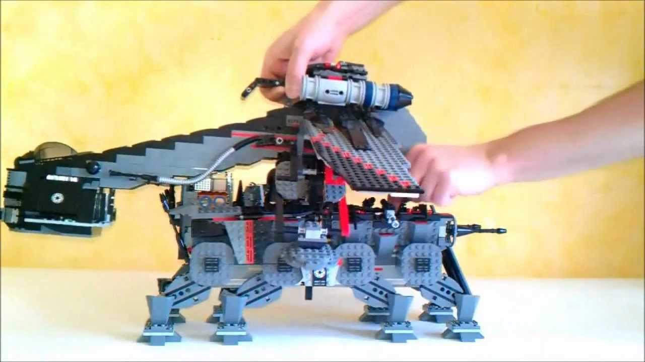 Lego Star Wars 10195 Republic Dropship With At Ot Custom Connecting Part 33avi