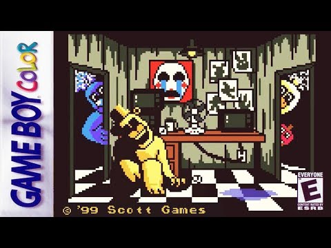 If FNAF Was Made For Gameboy Color! | FNAF Pocket Horror