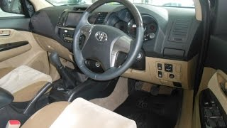 2014 Toyota Fortuner 2.5 G VNT (mesin, interior, exterior)