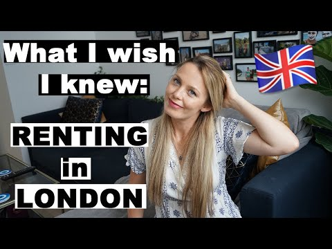 HOW TO: Rent In London | What I Wish I Knew Before I Moved | Tips, Cost, Budget, Which Area & More