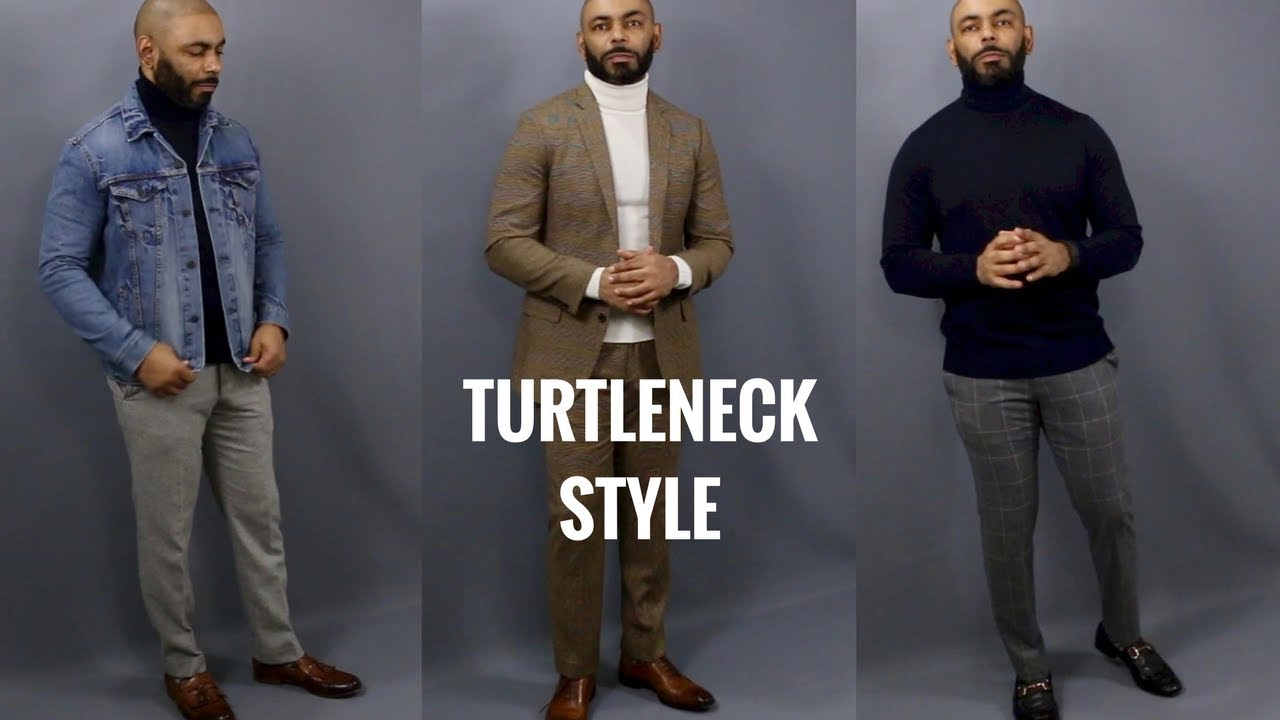 How To Style A Mens Turtleneck Sweaterhow To Wear A Mens