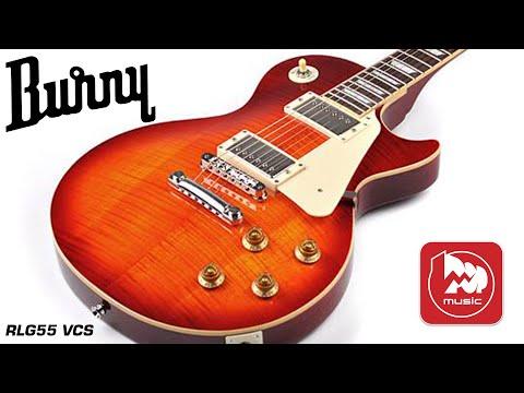 Электрогитара Les Paul Burny RLG55 VCS