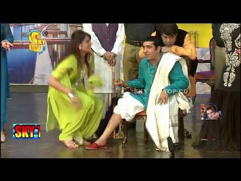 Zafri Khan with Iftikhar Thakur | Tariq Teddy | Punjabi Stage Drama | Kaki | Comedy Clip 2019