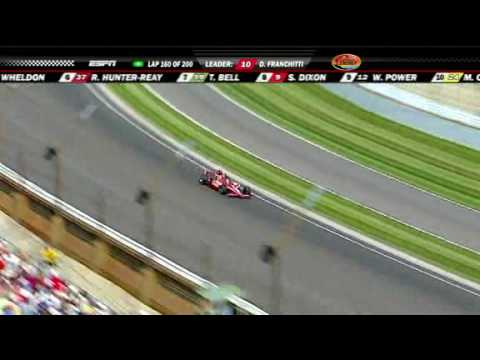 Mike Conway HUGE Airborne Crash + Highlights: 2010 Indy 500