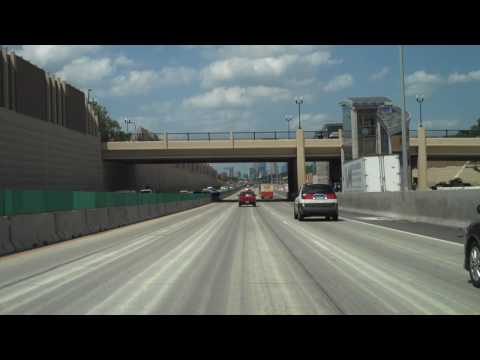 The I-35W Crosstown construction