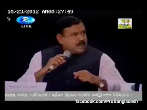 Shahjahan Khan Abuses and Outbursts in RTV Talkshow