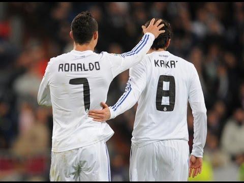 """Cristiano Ronaldo & Ricardo Kaka best moments """"Real Madrid"""""""