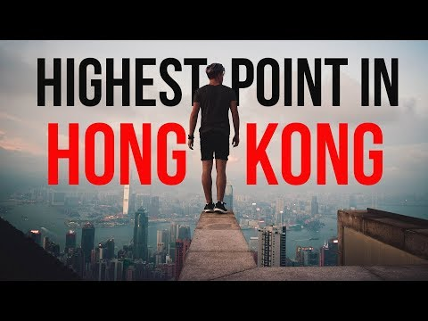 THE HIGHEST POINT IN HONG KONG !! *Amazing*