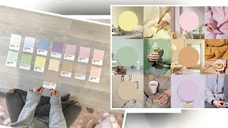 COLOR TRENDS 2019.  PASTELS ARE THE NEW NEUTRALS