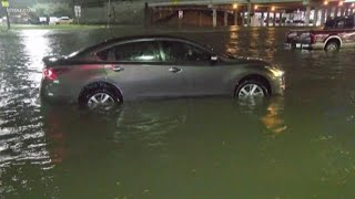 Tracking high water in the Houston-area