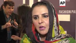 Pakistan Rape Survivor Walks Catwalk