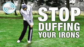 Stop DUFFING Your Irons - Winter Golf Series | ME AND MY GOLF