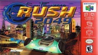 San Francisco Rush 2049 N64 Gameplay