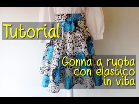 size 40 14da3 367cf Tutorial: Come Realizzare Gonna a Ruota DIY | BibiLoves.it