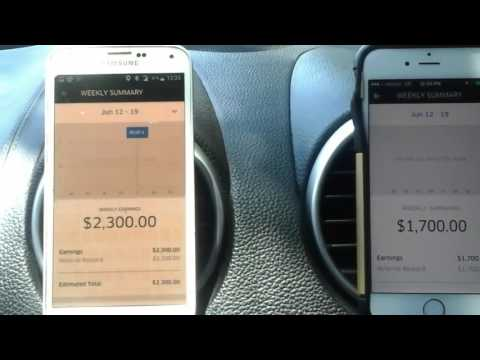 I make $4,000 and more each week with Uber. Partner and Private account.