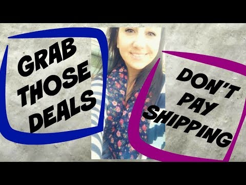 vlog-|-grab-those-deals-|-don't-pay-shipping