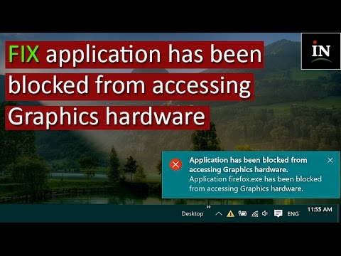 application has been blocked from accessing graphics hardware amd