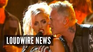 2017 Grammys: Metallica + Lady Gaga Mishap / Megadeth + Cage the Elephant Win Awards