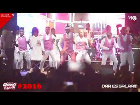 Diamond Platnumz - performing live KIZAIZAI at jangwani sea breeze (2016)