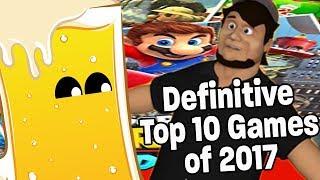 The Definitive Top Ten Games of 2017