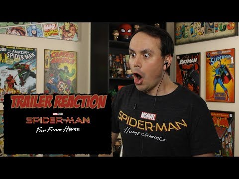SPIDER-MAN: FAR FROM HOME - Official Teaser Trailer REACTION