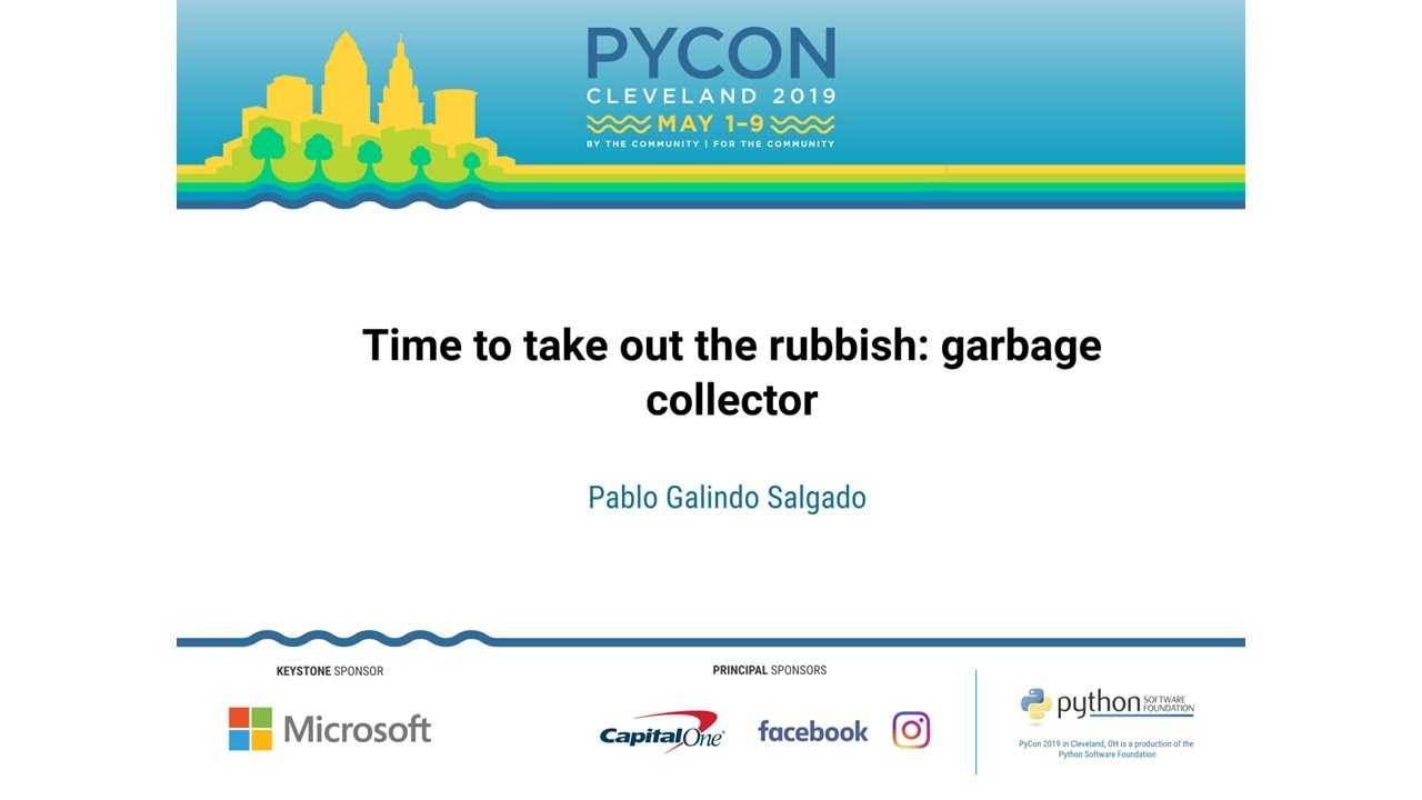 Image from Time to take out the rubbish: garbage collector