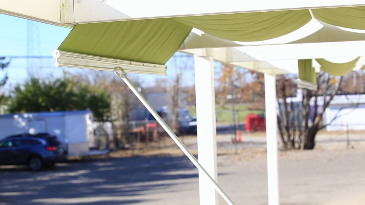 How to Lock ShadeTree Canopies & How to Lock ShadeTree Canopies - YouTube