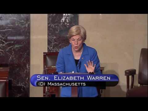 Senator Elizabeth Warren on the Republicans' government shutdown threats