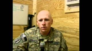 Watch Captain Matt Hunter Commander of Ft Bennings 2-69 COBRA COMPANY in Kalsu, Iraq