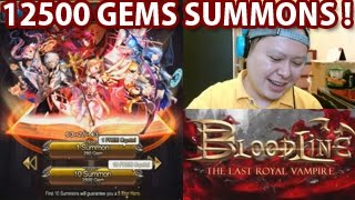 BloodLine 12500 Gems Summons !