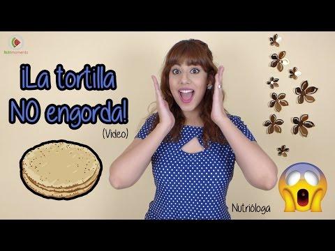 La tortilla NO engorda / Maravillas de la tortilla de maíz