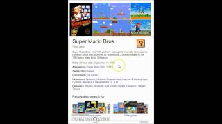 Cool Super Mario Bros Wiki Easter Egg
