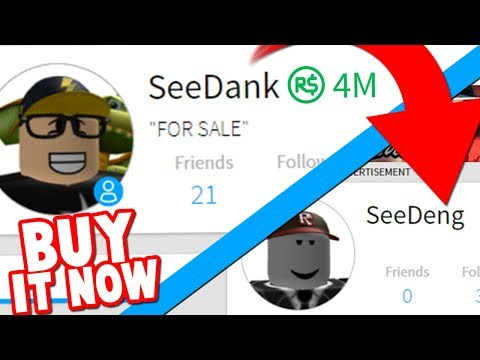 Seedeng Roblox Password I M Selling My Own Roblox Account You Can Have It Youtube