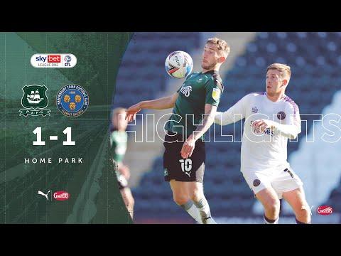 Plymouth Shrewsbury Goals And Highlights