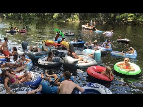 Floating Ginnie Springs Camping Adventure 2017