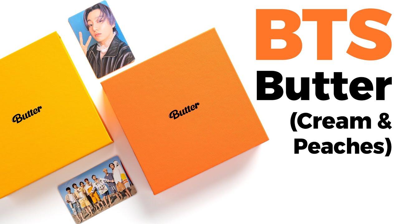 Unboxing BTS Butter Album (Cream & Peaches Ver.) / Quick Look