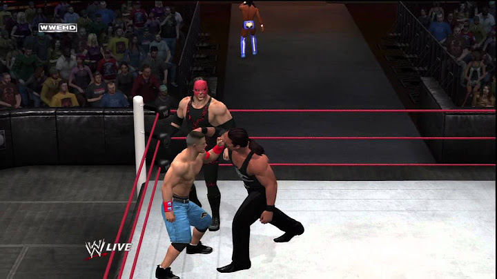 wwe12  40 man royal rumble match hd