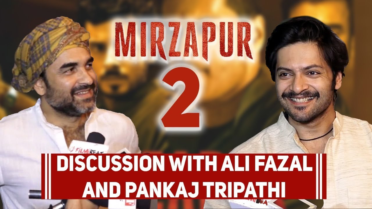 Pankaj Tripathi And Ali Fazal Reveal Details Mirzapur Season 2 At The  Success Bash