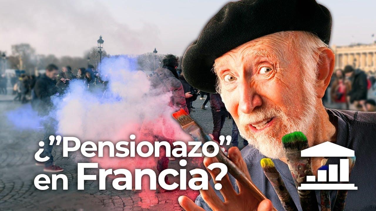 ¿Por qué las PENSIONES FRANCESAS son INSOSTENIBLES? - VisualPolitik