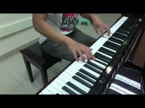 Glowing (The Script) Piano Cover