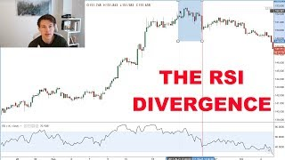 Trading the RSI DIVERGENCE - Forex Trading