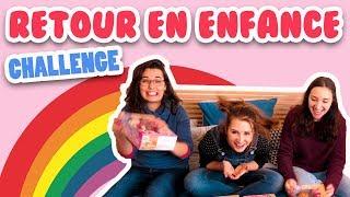 CHALLENGE retour en ENFANCE pendant une journée ! - Vidéo Challenge Angie maman 2.0