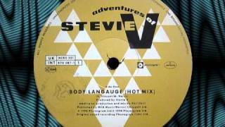 "ADVENTURES OF STEVIE V   ""Body Language""  12"""