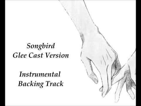 Songbird - Glee Version - Instrumental Backing Track