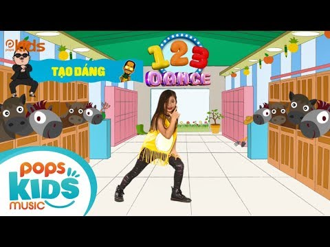 123 Dance – Tập 1 – Gangnam Style & PPAP   Học Nhảy Hiện Đại